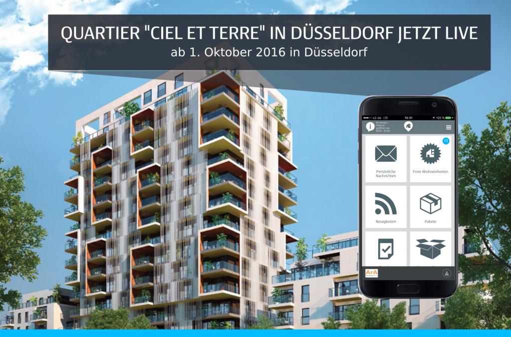 "Jetzt live: Quartier ""Ciel et Terre"" von Ara Ubiorum"