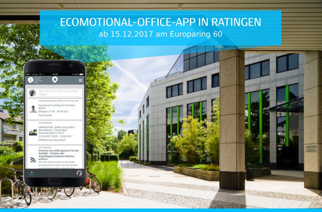 """Jetzt live: Gewerbeprojekt """"Ecomotional-Office"""" in Ratingen"""