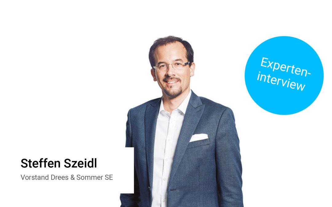Nachhaltigkeit gehört zur digitalen Transformation – Experteninterview mit Steffen Szeidl