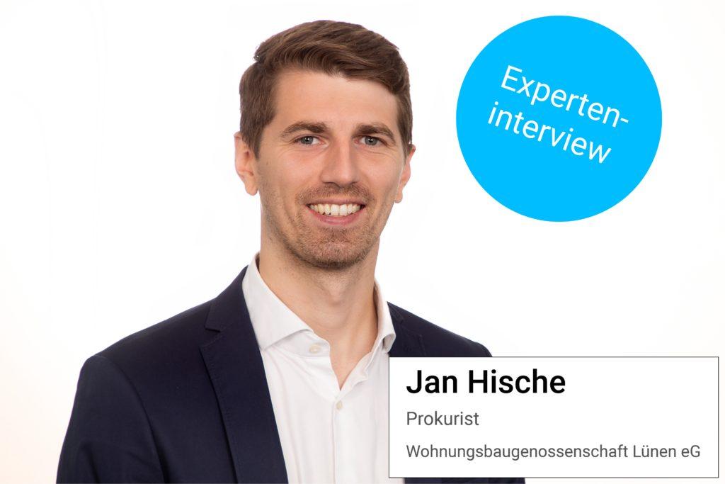 Jan Hische im Experteninterview zum Thema Schnittstellen.