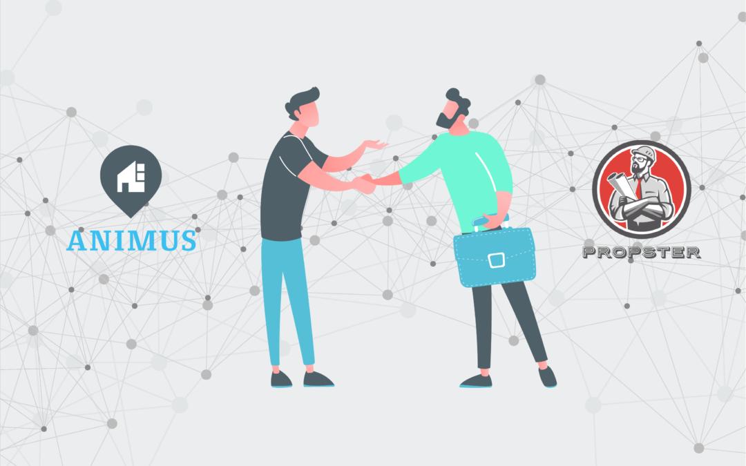 Ein Schulterschluss der digitalen Kundenplattformen ANIMUS und PROPSTER